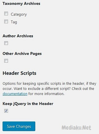 Memindahkan Javascript Ke Footer