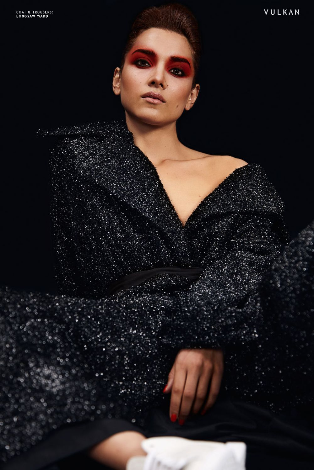 Amber Rose Revah photoshoot for Vulkan Magazine, November 2017