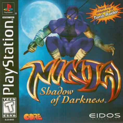 Ninja - Shadow of Darkness - PSX - Portada