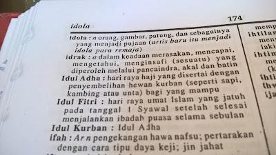 Penulisan Yang Benar Kata Idul Fitri