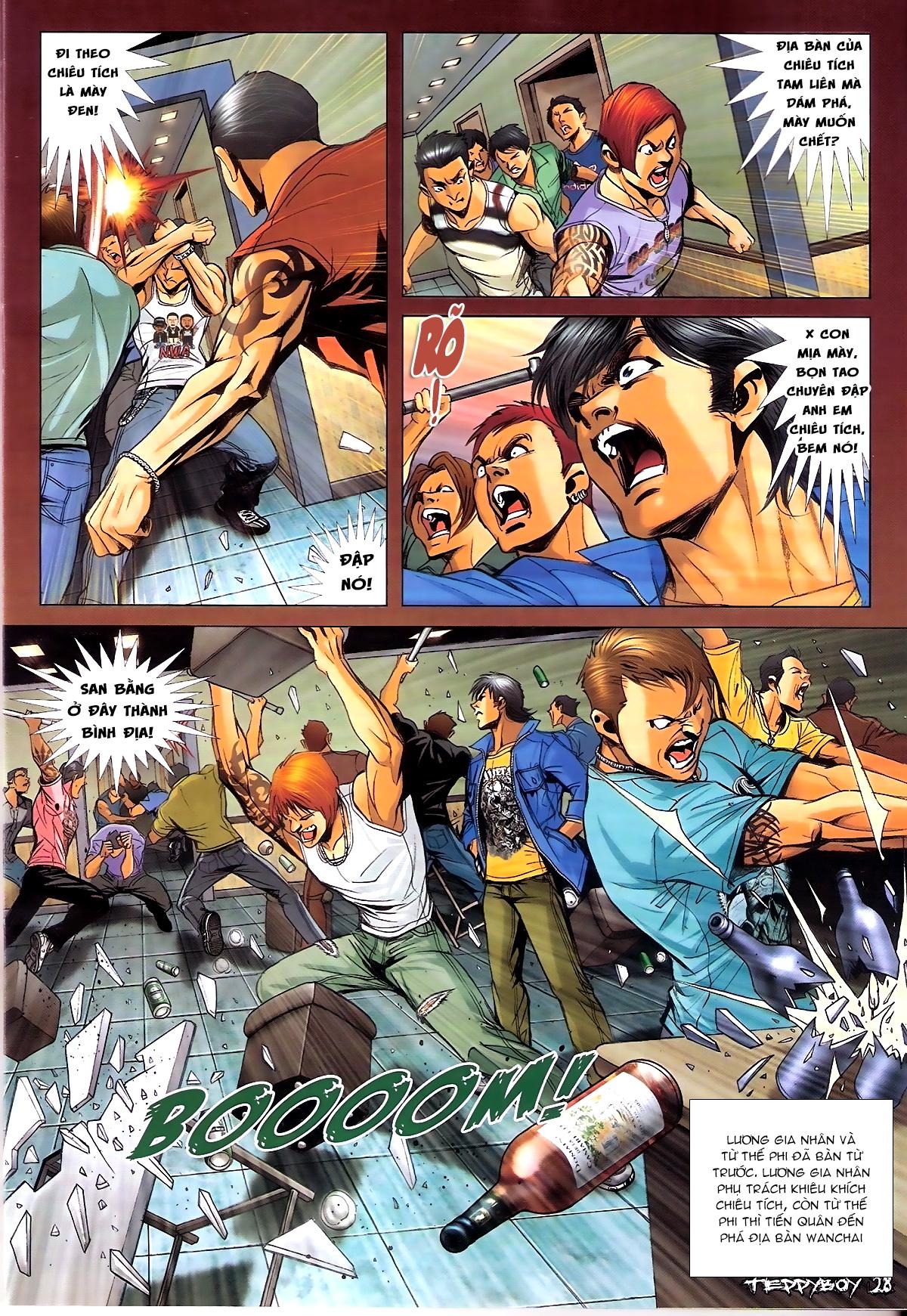 Người Trong Giang Hồ - Chapter 1339: Lương Gia Nhân vs Chiêu Tích - Pic 26