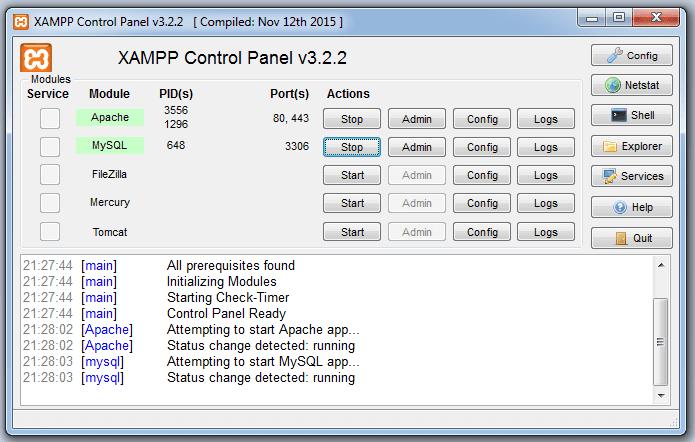 Cara Install XAMPP di Windows 7 64 bit Terbaru 2018-2019