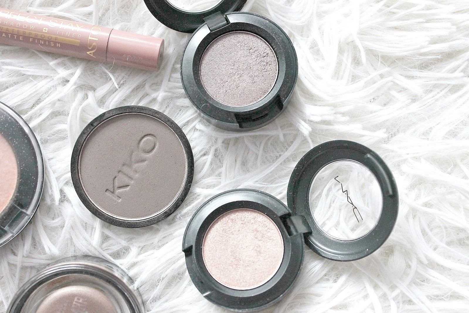 MAC & KIKO eyeshadow