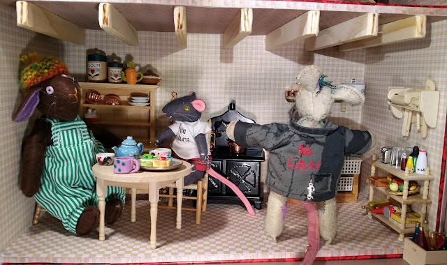 cuisine pour poupée, dolls kitchen