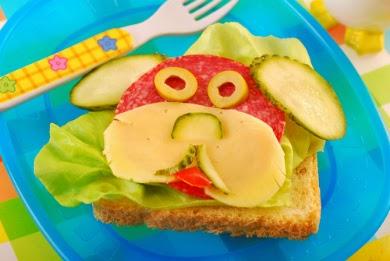ide makanan lucu untuk anak susah makan ~ roti berbentuk hewan