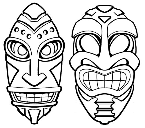 Gene Gonzales' Sketches & Other Silly Stuff: Tiki Bar