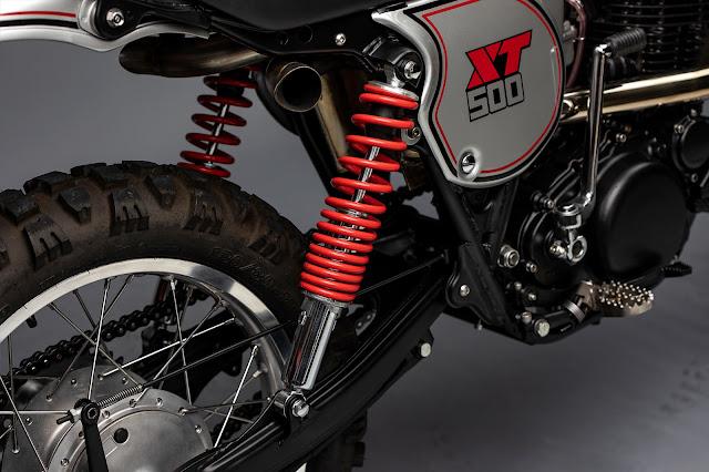 Yamaha XT500 By MotoRelic Hell Kustom