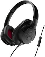 Audio Technica ATH-AX1iS BK Over-Ear Headphone