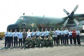 56 TAHUN MENGABDI, C-130B HERCULES A-1303 SIAP MENGUDARA LAGI