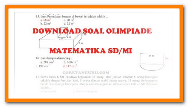 Contoh Soal Olimpiade Matematika SD/MI Terbaru