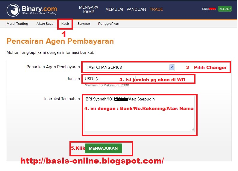 Cara withdraw di binary option