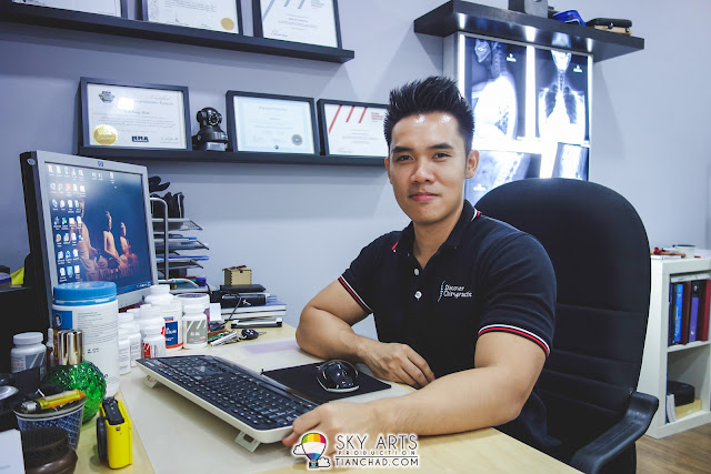 Dr. Sean Lee -  Gonstead Chiropractor @ Discover Chiropractic SS2