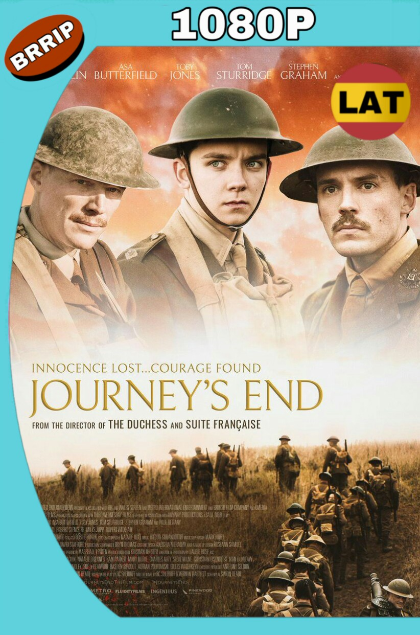 JOURNEY'S END (2017() BRRIP 1080P LATINO-INGLES MKV