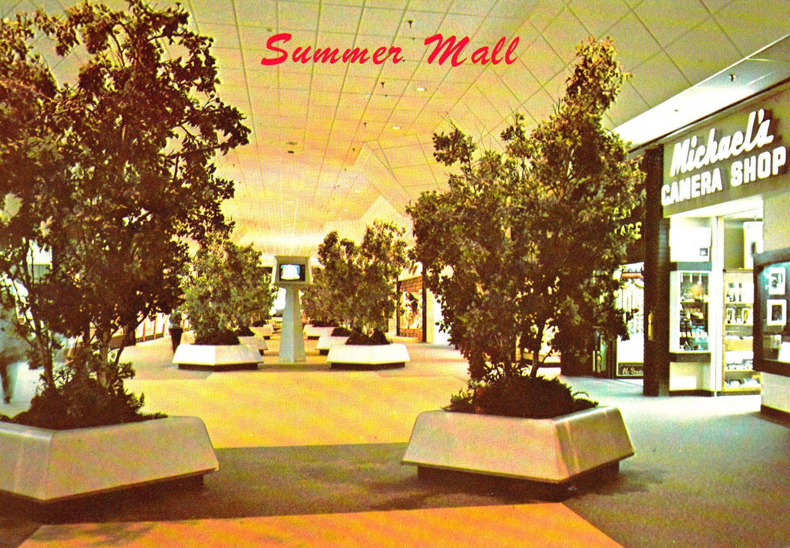 David Cobb Craig: Still More Selections From My Collection of Mall Post Cards