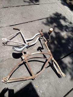 Dijual Rangka Sepeda Antik