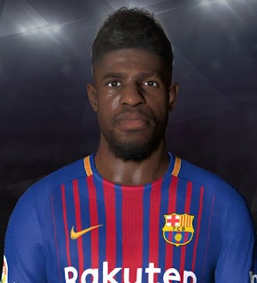 PES 2017 Faces Samuel Umtiti by Facemaker Ahmed El Shenawy