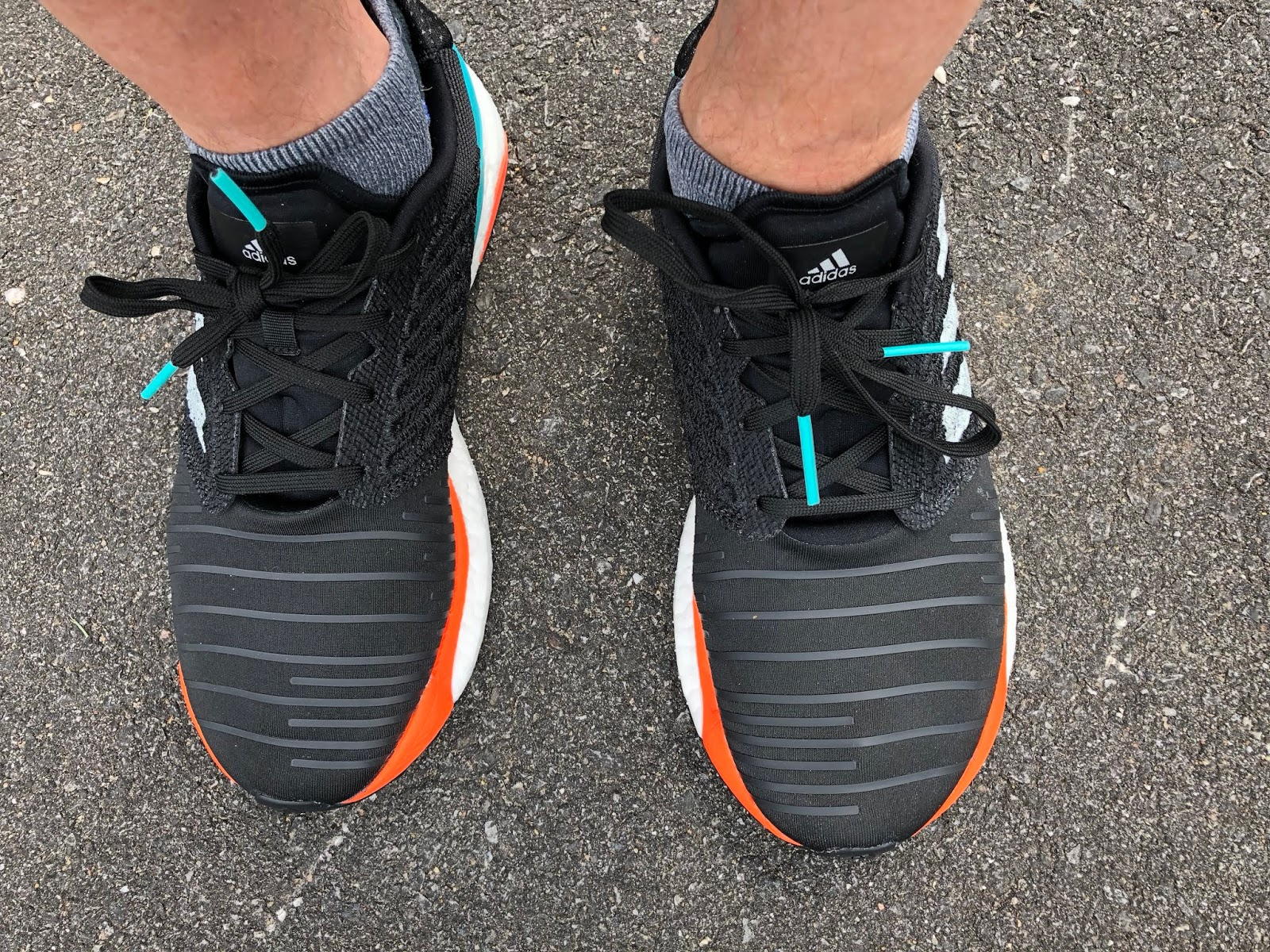 Perdóneme Quinto proteína  Road Trail Run: adidas Solar Boost Initial Review: Splashy Tropical Vibe.  Lively yet Mellow Ride
