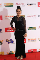 Vennela in Transparent Black Skin Tight Backless Stunning Dress at Mirchi Music Awards South 2017 ~  Exclusive Celebrities Galleries 030.JPG