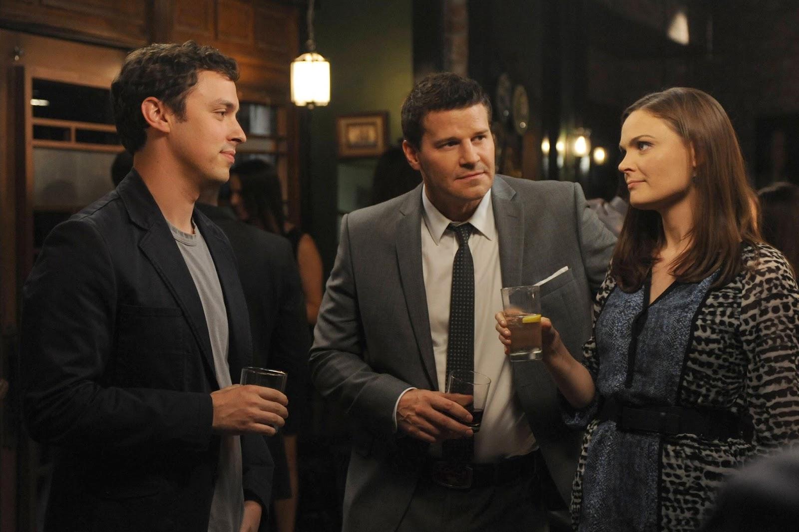 Imagen de Sweets con Booth y Brennan en Bones