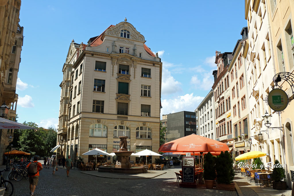 Barfußgäßchen, Leipzig, Alemania