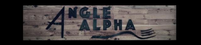Enseigne Angle Alpha