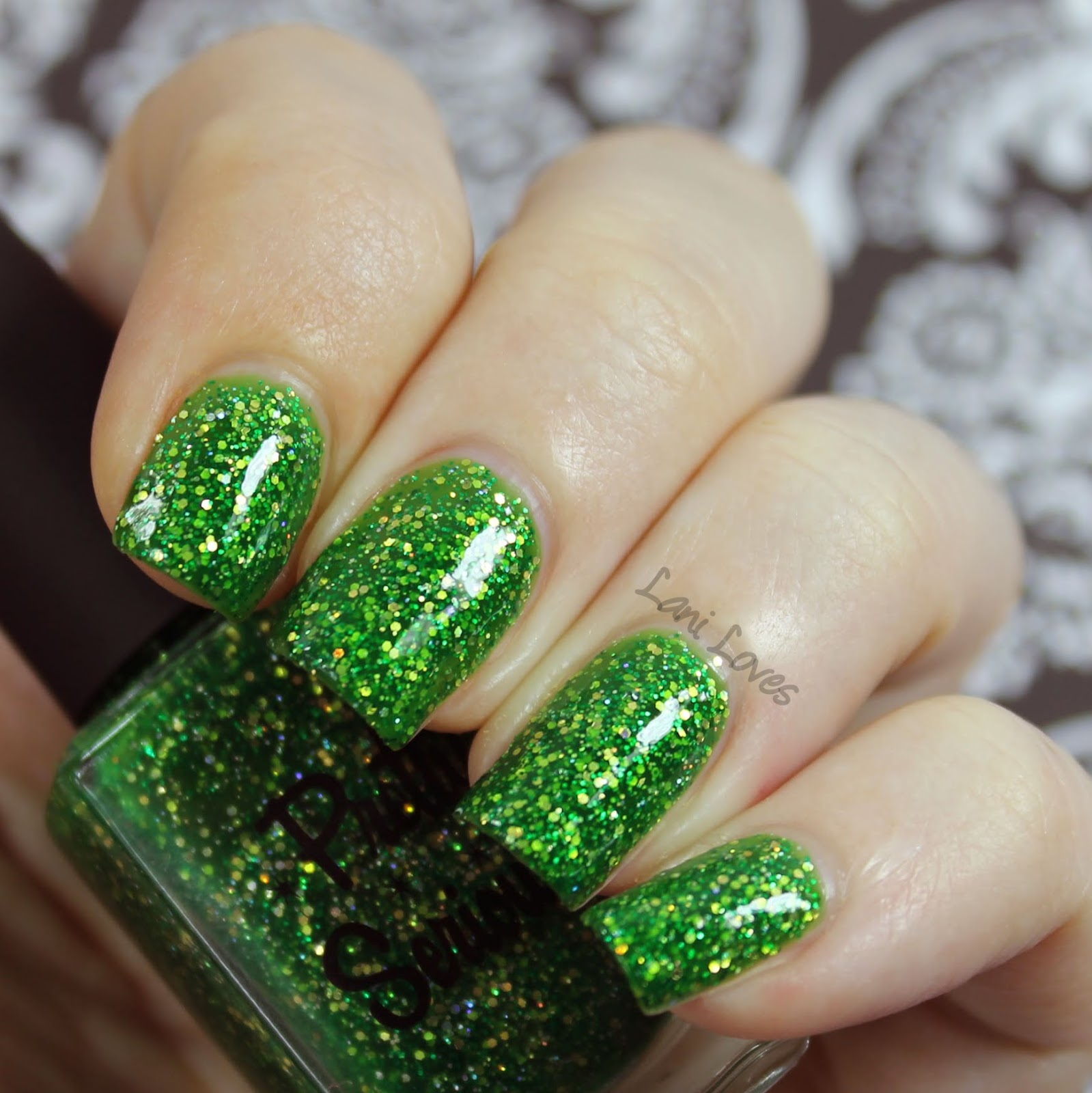Pretty Serious Liquid Leprechaun swatch