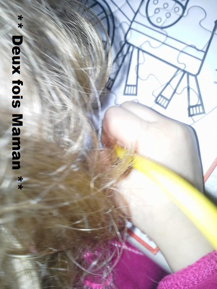 dessin sur puzzle