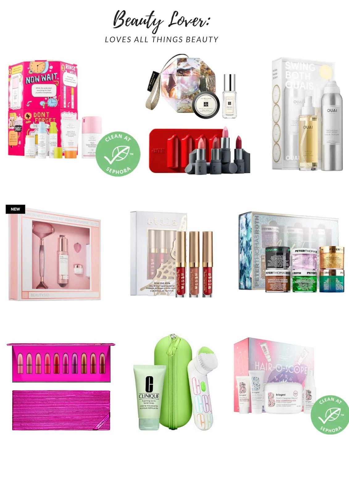 Beauty Holiday gift guide under $100