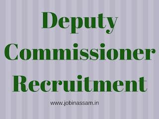 Office of the Deputy Commissioner, Udalguri Vacancies - Block Level Facilitator