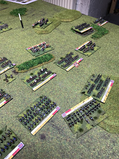 Fighting intensifies on the right flank