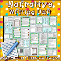 https://www.teacherspayteachers.com/Product/Personal-Narratives-Unit-Aligned-to-Gr-4-CCSS-398773