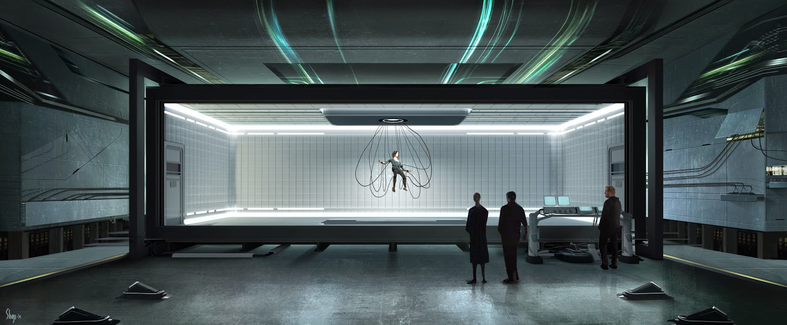 hauntingly beautiful insurgent concept art by craig shoji