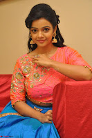 Nithya Shetty in Orange Choli at Kalamandir Foundation 7th anniversary Celebrations ~  Actress Galleries 113.JPG