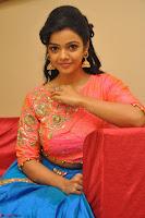 Nithya Shetty in Orange Choli at Kalamandir Foundation 7th anniversary Celebrations ~  Actress Galleries 113.JPG
