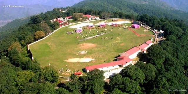 Highest cricket ground Chail