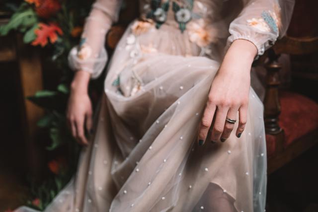 editorial la novia del palomar - vestido novia alicia rueda