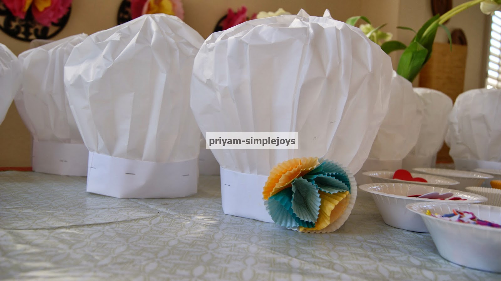 simplejoys paper chef hats