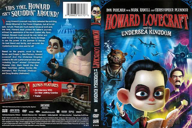 Howard Lovecraft and the Undersea Kingdom DVD Cover