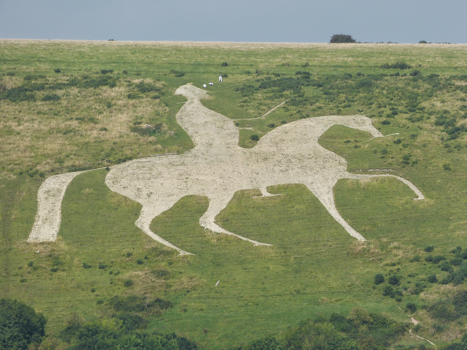 The White Horse, Osmington, depicting George III on horseback