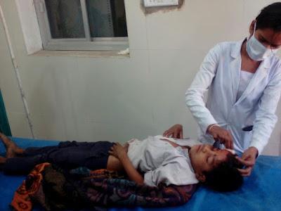 Accident School Girl Umariya