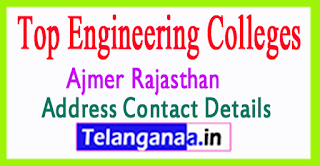 Top Engineering Colleges in Ajmer Rajasthan