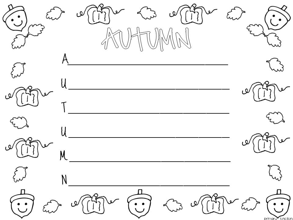 Teaching Blog Round Up: Happy Fall Y'all