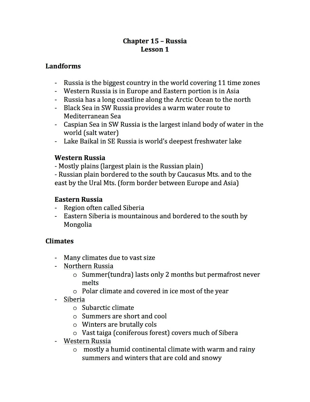 Ehms World Cultures Amp Geography Chapter 15