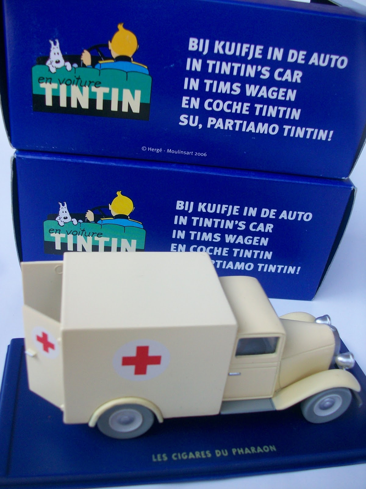 Ambulance For Sale >> King Of Toys Tintin Car Ambulance For Sale