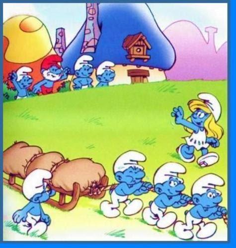 Baú Da Web: Smurfs Para Colorir