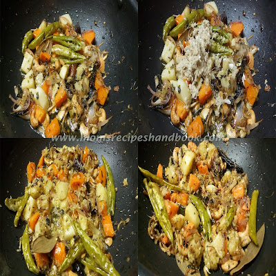 Vegetable Fried Rice Recipe with Kasuri methi