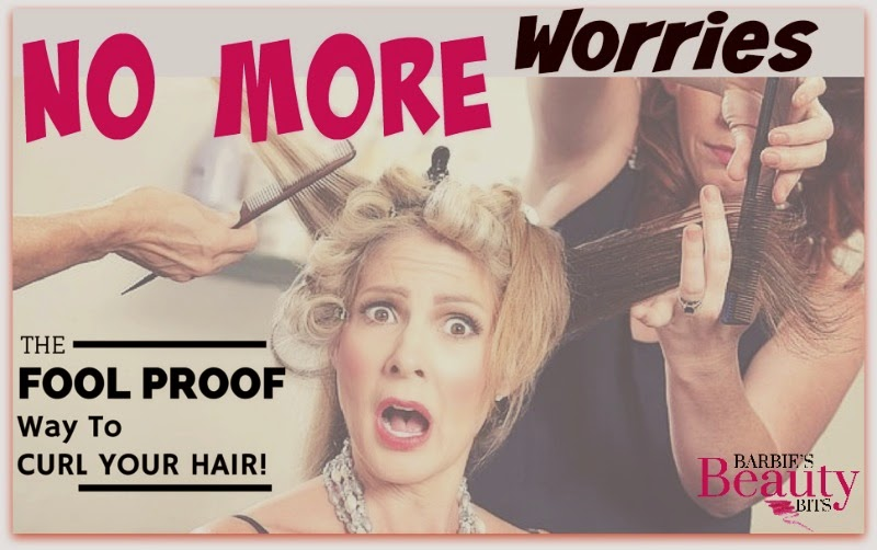 No More Worries, The Fool Proof Way To Curl Your Hair By Barbie's Beauty Bits