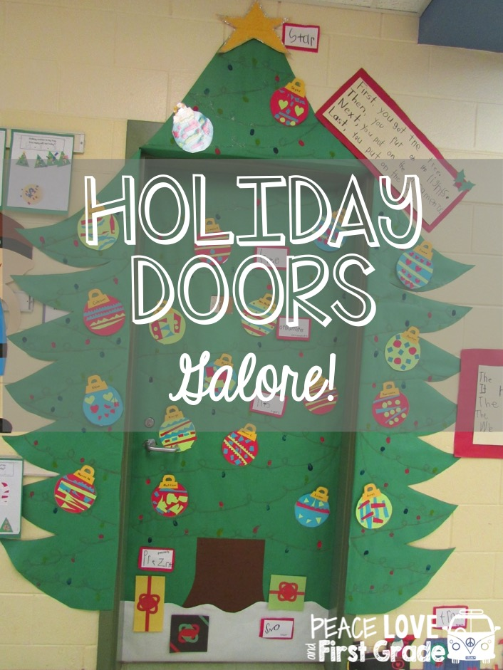 Holiday Doors Galore! & Holiday Doors Galore! | Peace Love and First Grade