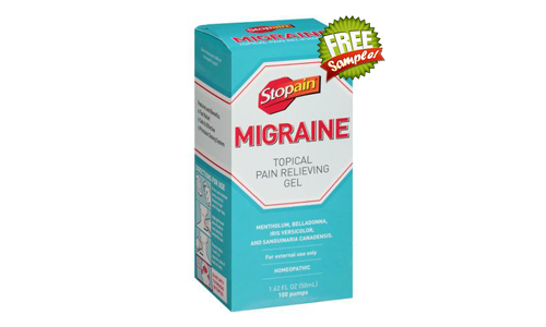 FREE Stopain Migraine Topical Pain Relieving Gel Sample, FREE Sample of Stopain Migraine Topical Pain Relieving Gel, Stopain Migraine Topical Pain Relieving Gel FREE Sample, Stopain Migraine Topical Pain Relieving Gel