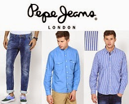 Pepe Jeans Clothing: Flat 50% Off